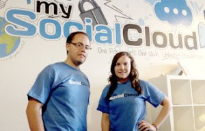 MySocialCloud founders Scott and Stacey Ferreira responded to a tweet from Richard Branson to meet the billionaire in Miami. Two months later, he became one of the company's investors.