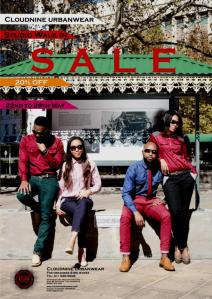 Cloudnine Urbanwear Studio (walk in) SALE 22nd to 29th of May